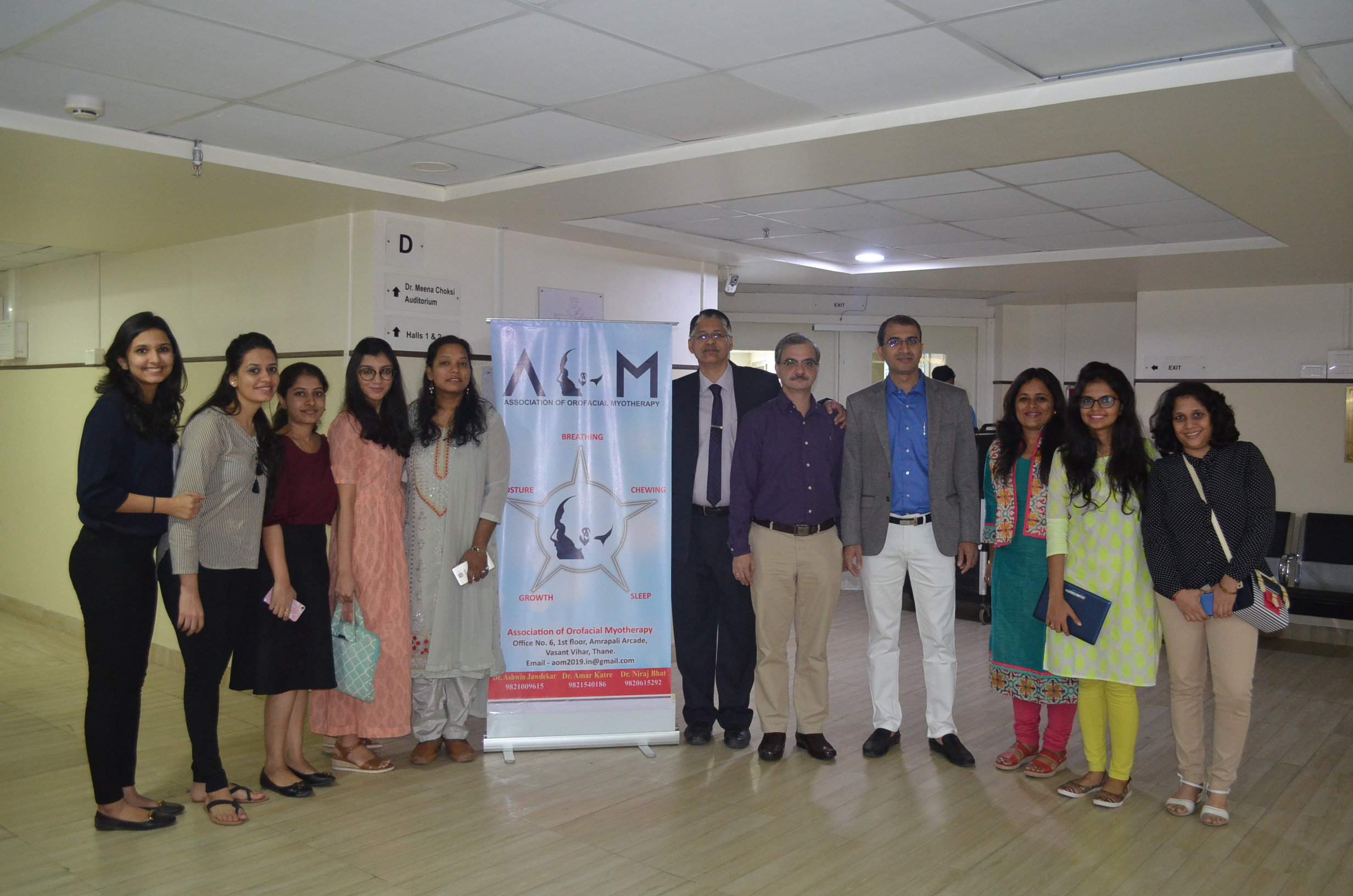 Past Event - Launch of the Foundation of Orofacial Myotherapy