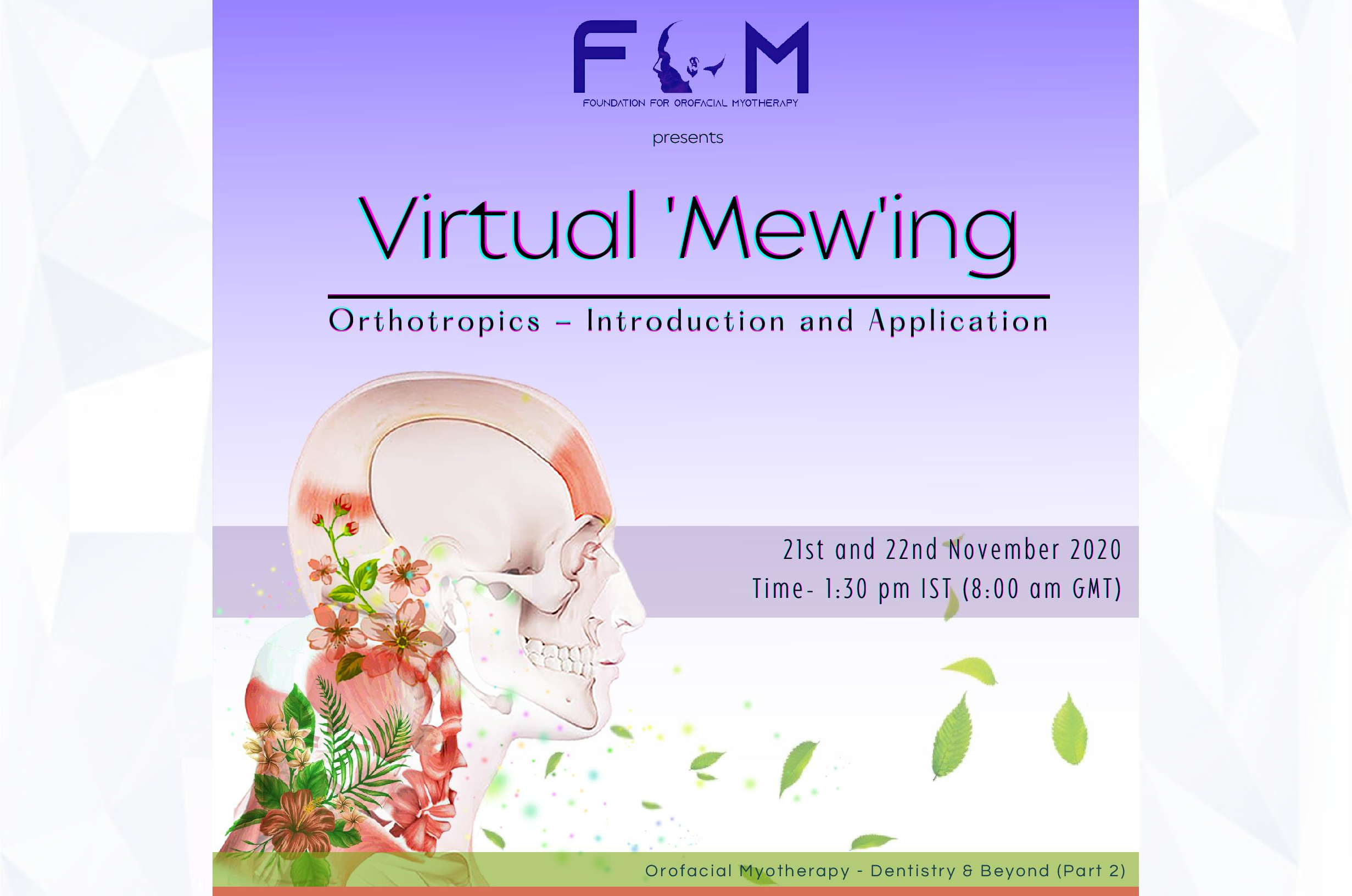 Upcoming Event - Virtual 'Mew'ing